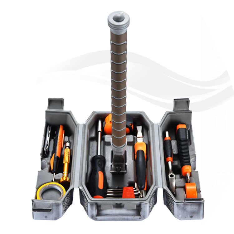 Новый комический молоток набор инструментов для дома ручной инструмент коробка Тор молот не включен kinf и тест pencal