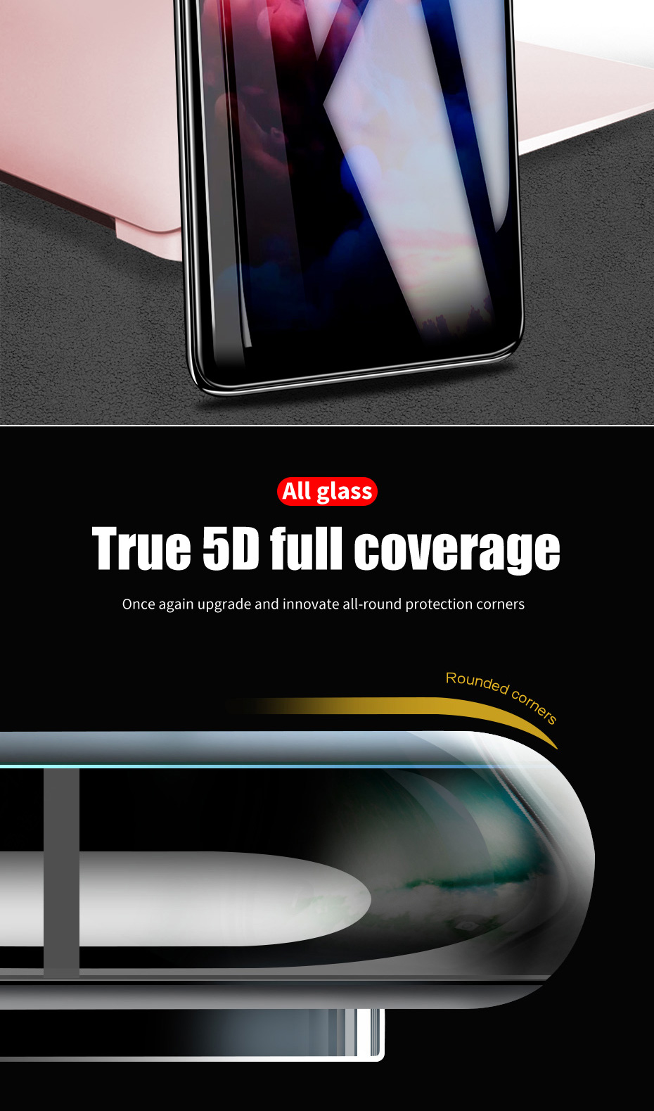 ZNP 5D Screen Protector Tempered Glass For Xiaomi Redmi Note 7 5 8 Pro Redmi 4X 7A Protective Glass For Redmi Note 8 5 Plus Film