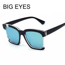 Nuevo Estilo de Verano Gato ojos Cuadrados Mujeres Hombres gafas de Sol de Las Mujeres Marca Diseñador Gafas Gafas de media marco llanta Gafas de Sol de La Vendimia Sol