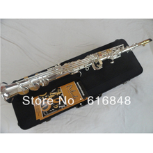 Saxophone Selmer Silver Plated Sax Professional Musical Instrument B Flat Eb Boquilha Alto Saxophone 54 Electrophoresis SS-750