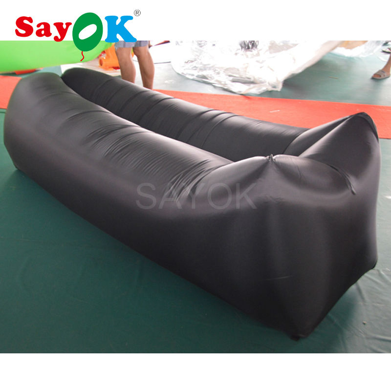 Online Shop Inflatable Air Sofa 260*70cm Air Lounger Sofa Cum Bed Chair  Inflatable Air Couch Sleeping Bag For Adult | Aliexpress Mobile