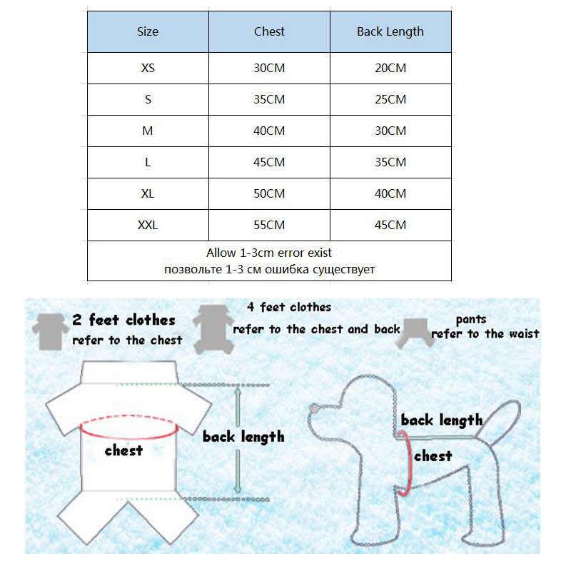 Köpek tulum küçük köpekler için kış sıcak köpek giysileri Pet tulum tulumlar & Romper eşofman köpekler evcil hayvanlar için tulum köpek 56389
