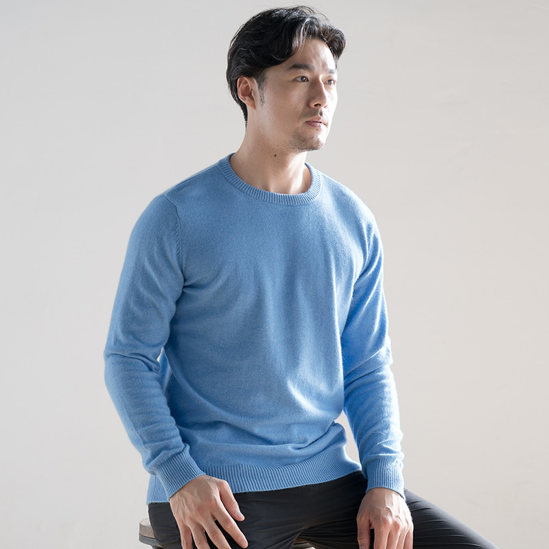 Men Sweaters O-Neck 100% Cashmere And Wool Knitting Jumpers 2019 New Fashion Winter & Antumn Pullovers For Male Clothes