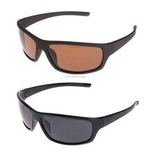 Квадратная черная рамка очки мужские велосипедные поляризованные солнцезащитные очки Защита Спортивные UV400 Для мужчин