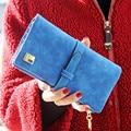 2017 6 Цветов Повелительницы Сумки Женщины Кошельки ПУ Кожаные сумки Кошелек Держатель Карты Новый Bolsas Femininas Бесплатная Доставка J417