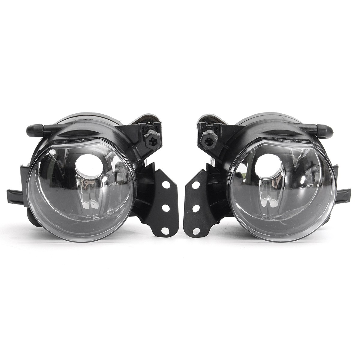 1 Pair Front Car Fog Lights Lamps For BMW E60 E90 E63 E46 Sedan Convertible 3/5/6 Series pair new high quality front fog lamp lights driving lamps clear lens car styling for bmw e39 5 series 2001 2003