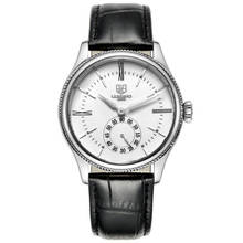 SEKARO Switzerland watches men luxury brand automatic mechanical Simple Bauhaus business fashion trend white Leather strap