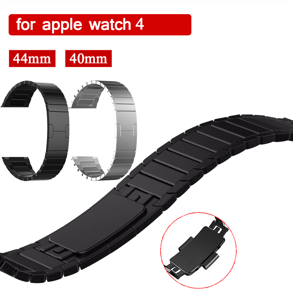 EIMO Stainless Steel Strap for Apple Watch 4 band 44mm 40mm iwatch 4/3/2/1 42mm 38mm Original Link Bracelet Wrist Belt Watchband цена