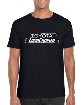 Japon Klasik Legend Araba Landcruiser 2019 Yeni Moda Marka T Gömlek