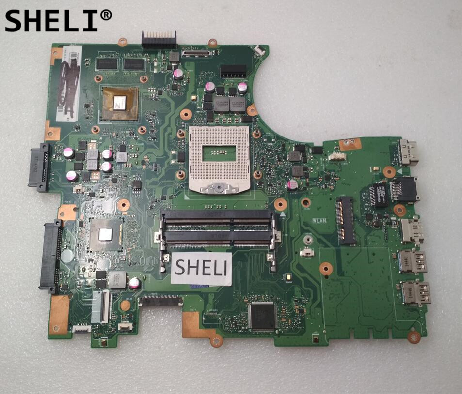 SHELI For ASUS PU551 PU551JD PU551JA Motherboard REV2.0 Mainboard with N15V-GM-S-A2 n15v gm s a2 n15v gm b a2 n15v gs s a2