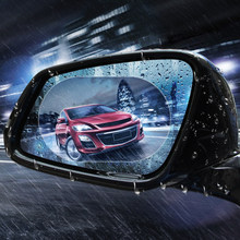 Car Rearview Mirror Waterproof Rainproof Sticker FOR mini cooper peugeot ford focus honda civic nissan toyota corolla audi a3(China)
