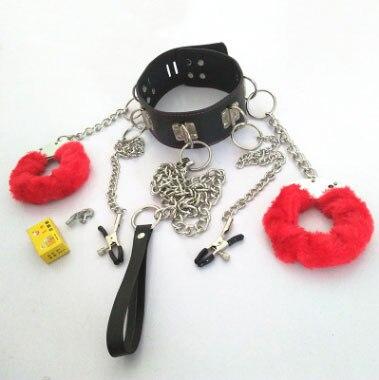 Chastity Locks bondage kit adult erotic BDSM games bondage set handcuff binding SM bondage restraint slave locks