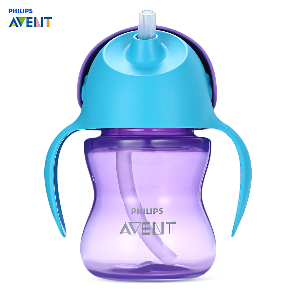 1PC Plastic Handles Holder For Avent Baby Cup Feeding Bottle Trainer Easy DC