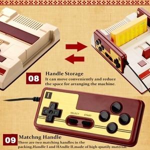 Image 3 - Compatto Video Console di Gioco Con 500 8 Bit Built In Giochi Con 2 Controller Supporto Cartuccia di Gioco