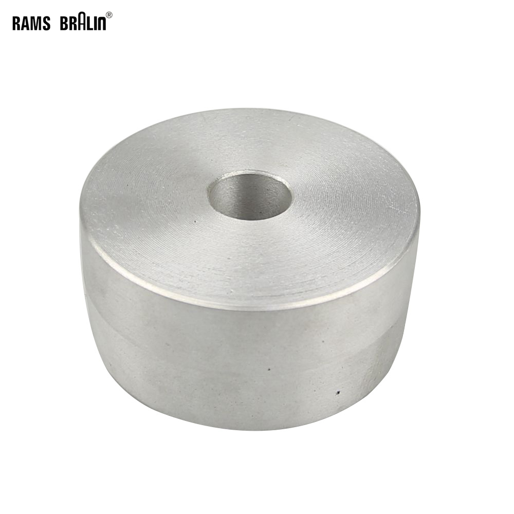 Abrasive Tools 4*2*1 Fully Aluminum Contact Wheel Belt Sander Rear Wheel