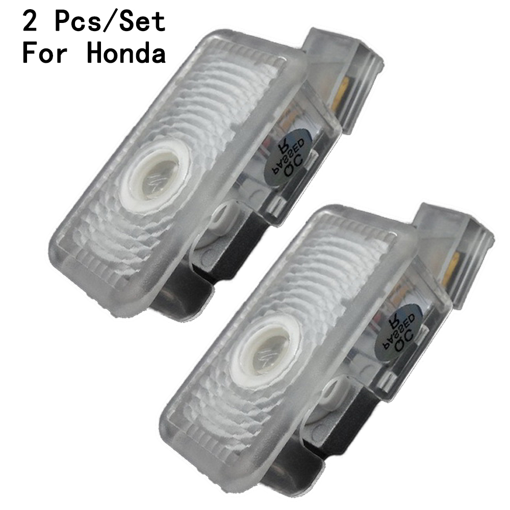 Lens Include 3W With Logo LED Courtesy 2Pcs/Set Ghost