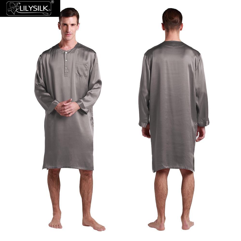 1000-dark-gray-22-momme-mens-silk-nightshirt