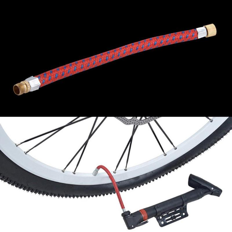 Universal Bicycle Pump Extension Hose Air Pump Inflator Tube Pipe for MTB Road Bike Ball Inflator Tube Portable Bicycle tools