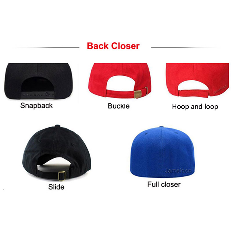 Image 4 - Low MOQ custom logo cap embroidery trucker golf tennis hiphop hat full close fitted custom snap back baseball cap custom hat-in Men's Baseball Caps from Apparel Accessories