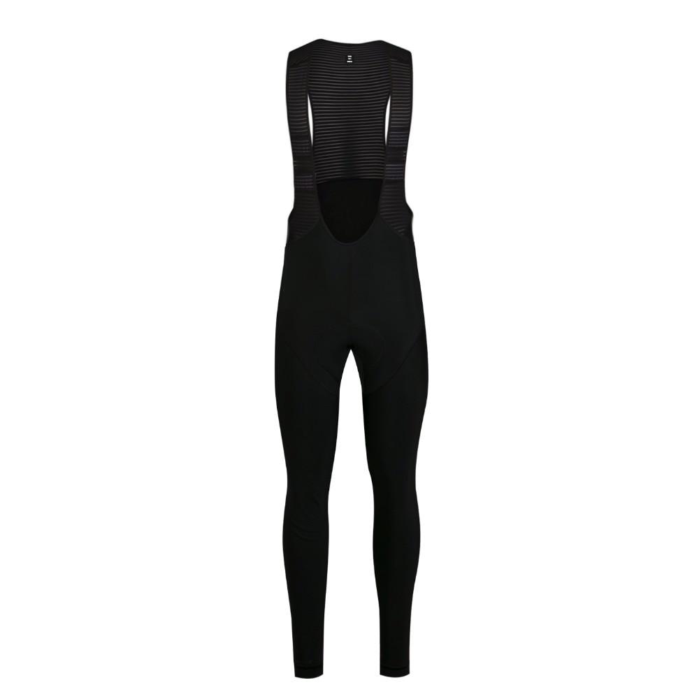 SPEXCEL NOUVELLE Hiver course Collants avec haute densité pad Brossé tissu DWR DÉPERLANT traitement bib pantalon avec poche arrière