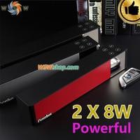 2 X 8W Powerful 3D Bluetooth Speaker 360 DSP Sound Wireless Speaker Lound Sound Box Support
