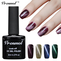 Vrenmol 1pcs Cat Eye's UV Nail Gel Magnetic UV LED Gel Lacquer Varnish Need Magnet Nail Art 24 Colorful Magnet Polish