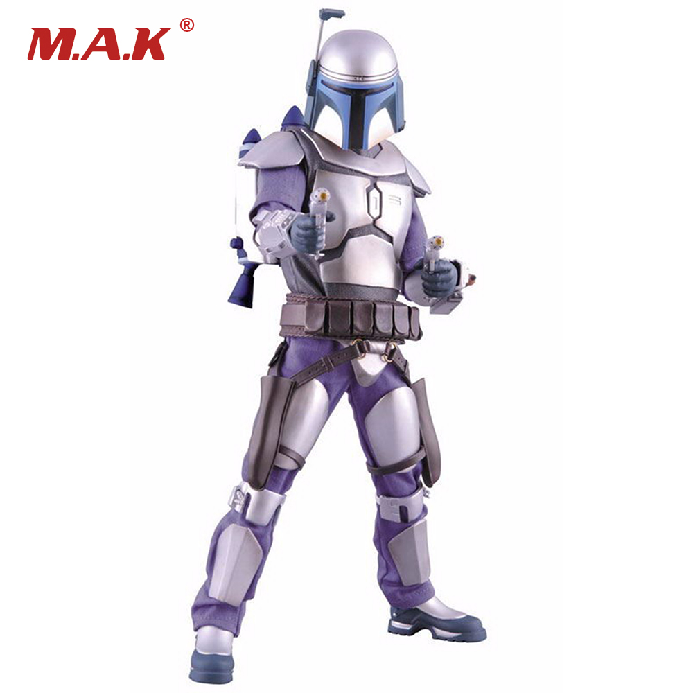 1/6 Scale Star Wars Jango Fett Collectible Action Figure Doll Toys Gifts 1 6 scale collectible film figure doll star wars episode iv a new hope chewbacca 12 action figure doll model plastic toys