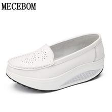 Minceur chaussures femmes en cuir de mode casual chaussures femmes Fitness Lady Swing Chaussures D'été Usine Dont Top qualité chaussures 811 W