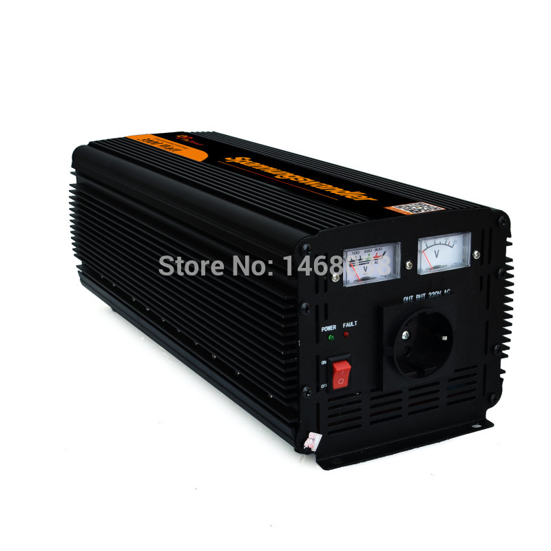 power inverter DC 12v/24v to AC 220v 230v 240v 3000w converter modified sine wave inverter