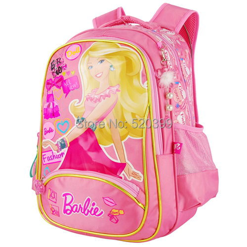 Barbie Cartoon Children Books Shoulder School Bag Backpack Rucksack For S Grade Class 2 4 In Bags From Luggage On Aliexpress Alibaba