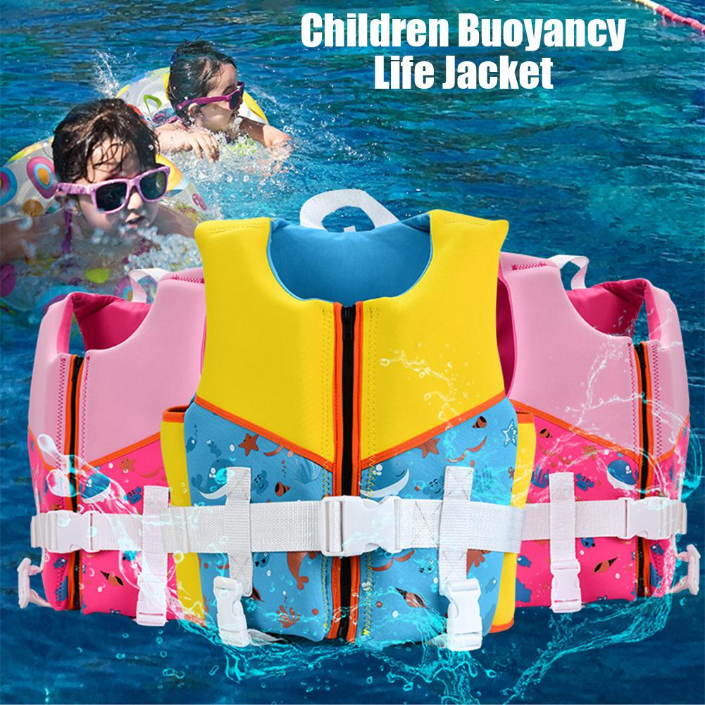 MANNER Kids Children Buoyancy Life Jacket Vest Kids Boys Girls Buoyancy Safety Vest Life Jacket For Water Sport Beach Swimming