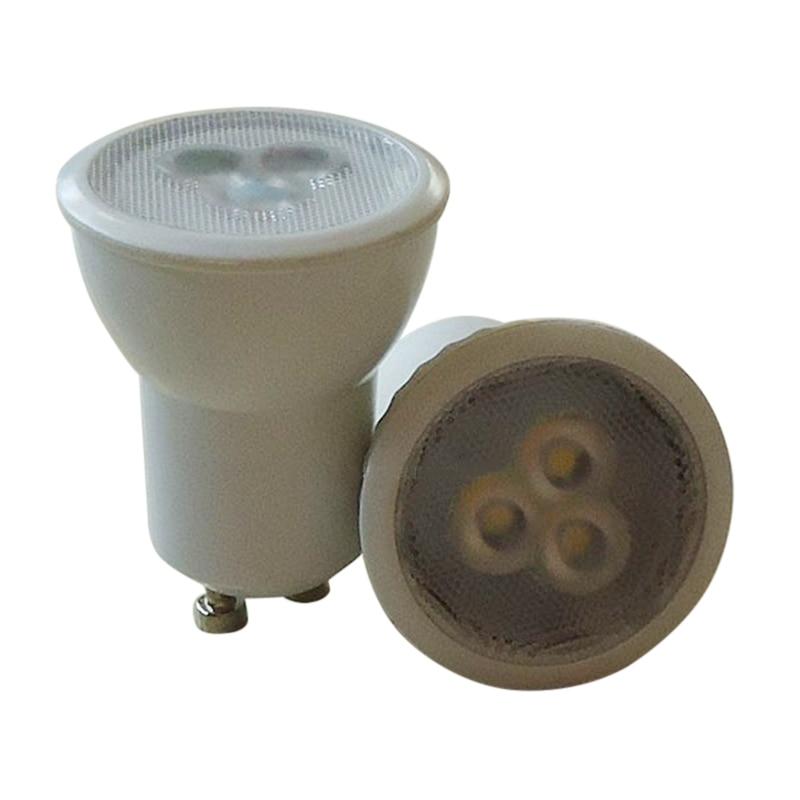 Super Bright Mini 3W GU10 MR11 LED Bulb AC85-265V 35mm Led Spotlights Warm White Cold White GU 10 LED Lamp SMD 2835