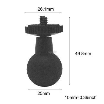Резиновое Крепление с шаровой головкой на 1/4 винт адаптер штатива адаптер для Ram Mount Gopro экшн-камера GPS шаровое Крепление Держатель Аксессуары