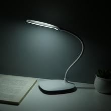 USB recargable LED escritorios lámpara de mesa Lámpara de lectura de intensidad ajustable Interruptor táctil lámparas de escritorio 3 modos lámparas de escritorio