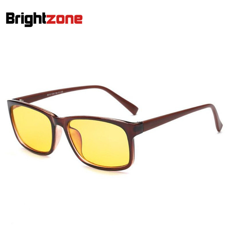 Brown Yellow lens