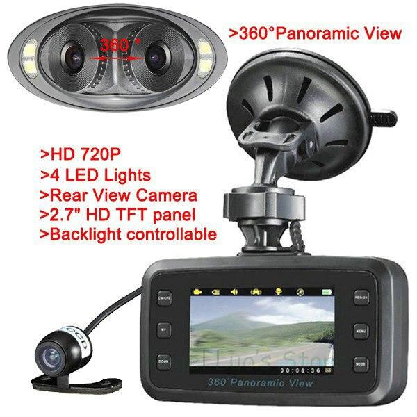 Автомобильный видеорегистратор 360 градусов