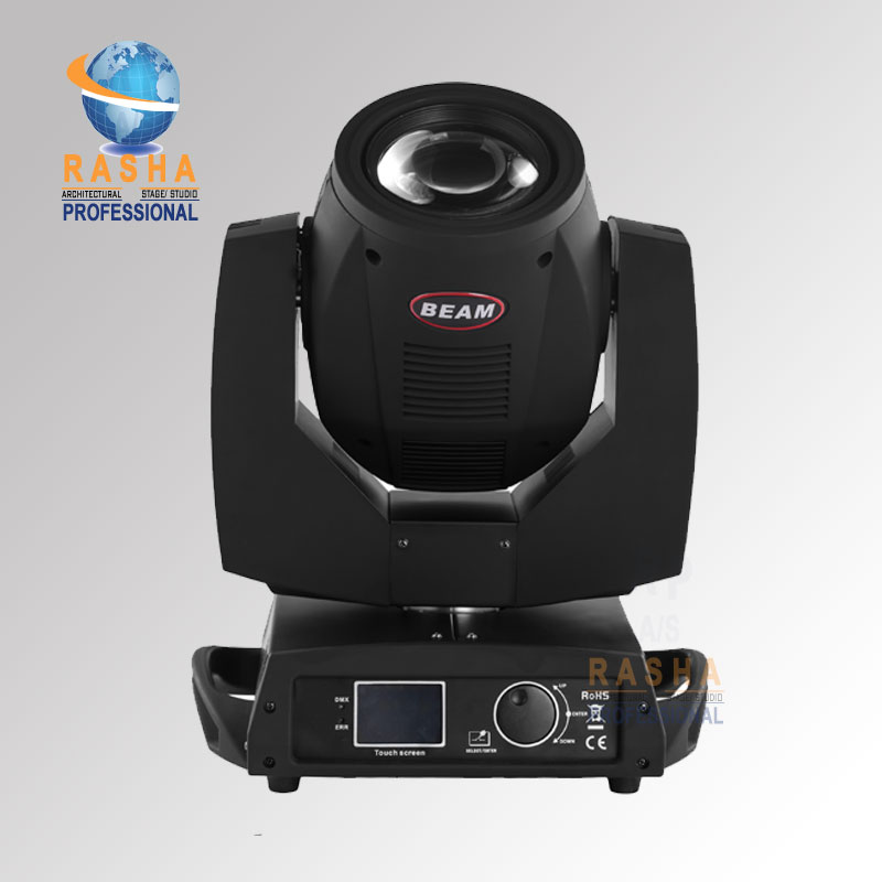 6X LOT Rasha High Quality 200W 5R sharpy 16 Channel Moving Head Beam With Touch Screen LCD Display,Stage Moving Head Light