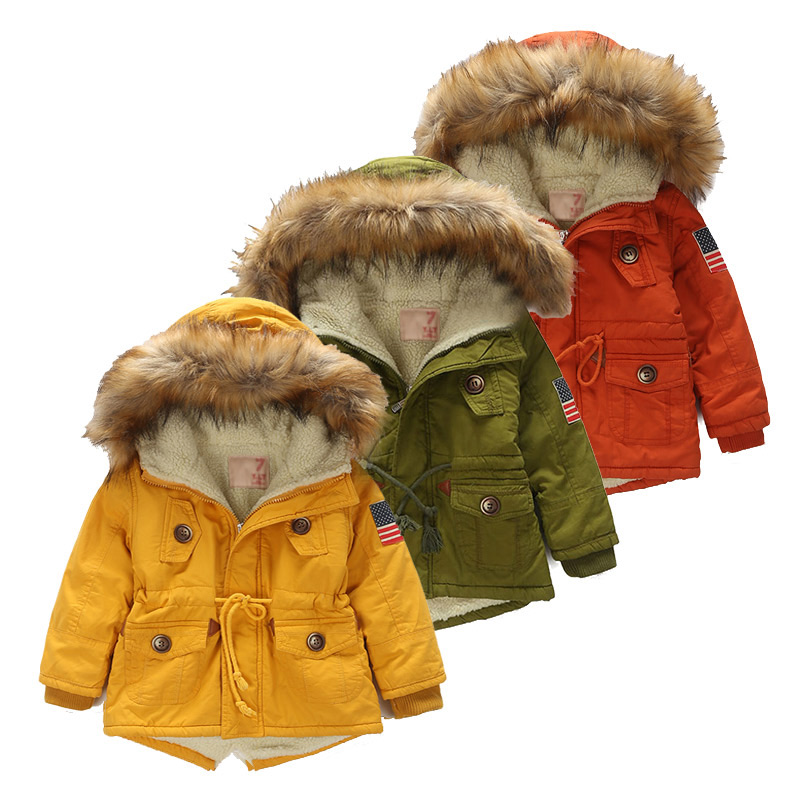 Kids Coat 2018 Autumn Winter Boys Girls Jacket For Children Clothing Hooded Outerwear Teen Boy Clothes 4 5 6 7 8 9 Year Overcoat