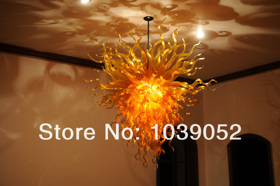 Wholesale Price Hand Blown Glass Led Chandelier Ceiling in Chandeliers from Lights Lighting