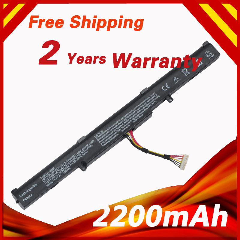 14.8V 2200mAh Laptop Battery for ASUS A41-X550E F450 X450 A450 X450E A450V F450E F450C A450J F450JF X450J Series X751L X751M