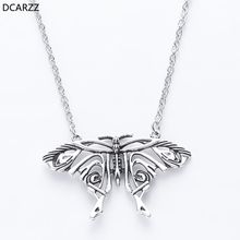 Mamma Mia Silver Antique Butterfly Pendant Yong Donna's Big Butterfly Necklace Costume Cosply Jewelry Accessories for Women Gift платье mamma mia mamma mia ma115ewgsci0