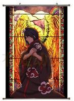 Naruto Shippuuden Akatsuki Konan Home Decor Japanese Poster Wall Scroll Anime C