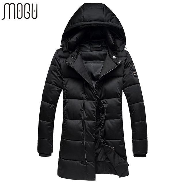MOGU Winter Jacket Men Down Jacket Men Down Coat Parka Aisan Size M - 5XL