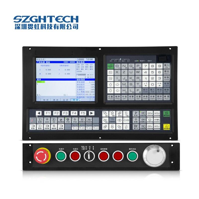 GH 1000MC 3 ce Сертификация Встроенный стандартный plc программы, обновление программного обеспечения, ЧПУ для фрезерный станок