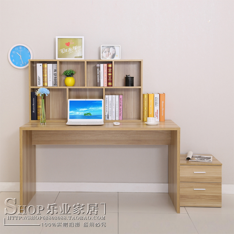 Online Shop Environmental home desktop computer desk combination bookcase  desk study desk with shelves Office tables simple | Aliexpress Mobile - Online Shop Environmental Home Desktop Computer Desk Combination