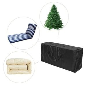Мебельная подушка для улицы, сумка для хранения, органайзер для рождественской елки, домашний Многофункциональный вместительный Контейнер для мелочей