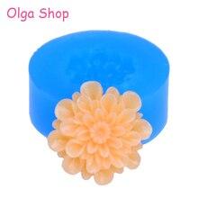 яркий цветок гибкого силикона наёмите плесень формы мини смолы каваий miniat сладости глины фимо смолы и воска эпоксидной десен помадки hyl063