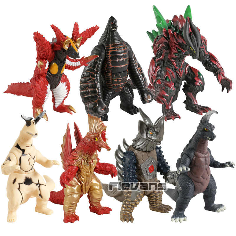 Ultraman kaiju monstro belial vermelho rei earthtron tirano maga jabba zepandon eleking pvc figura de ação modelo brinquedo
