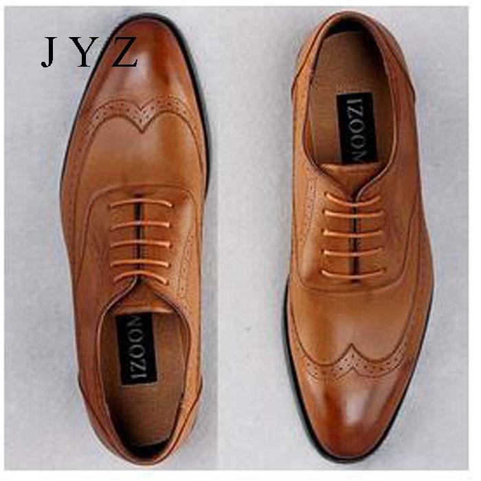 2017 New Fashion Mens Oxfords Vintage Dress Shoes Party Shoe Man Plus Size Shoes Male S0230 mycolen 2018 new fashion mens oxfords vintage dress shoes luxury brand comfort office man shoes for party sepatu pria