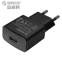 ORICO Universal USB Charger 5W Travel Wall Charger Adapter Smart Mobile Phone Charger for iPhone Samsung Xiaomi iPad Tablets
